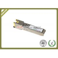 Quality Small Form Pluggable Sfp Transceiver Module With Spring Latch 10base-T 100base Tx for sale