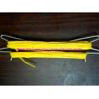 Quality 1mm 1200m/Kg Packing PP Tomato Twine For Agricultural UV Treated Yellow for sale
