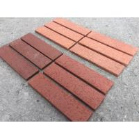 Buy cheap Home Exterior Split Face Brick With Clay Raw Material Wire Cut Brick Surface from wholesalers