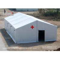 Quality UV Resistant Mobile Refugee Emergency Medical Tents  / Disaster Relief Tent for sale