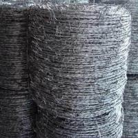 China Galvanized Barbed Iron Wire, Suitable for Agriculture, Animal Husbandry Industry, and Dwelling House on sale