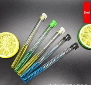 Quality new design small mini  3ml glass test tube bottle for sale