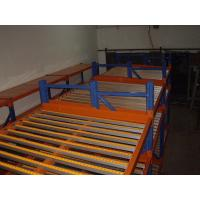 Quality light duty Carton flow rack stores commercial shelving with manual working for sale