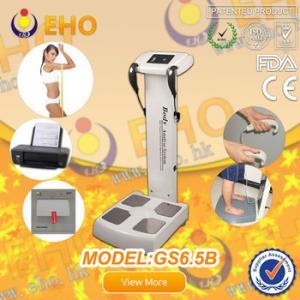 Quality GS6.5B BMI Bioelectrical impedancebody fat analysis machine/ measuring human height machin for sale