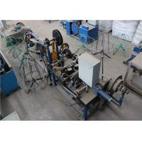 Quality Electric Galvanized Barbed Wire Making Machine 1.6 - 3.0 Mm 3 Kw High Capacity for sale