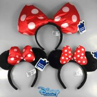 China Fashion Disney Plush Hairband Headband Hairpin Mickey Mouse Minnie Mouse For Girl on sale