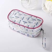 Quality Light Weight PVC Shopping Bag With Zip / Economical Fashion PVC Zipper Bag for sale