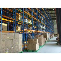 Quality High Density VNA Pallet Rack Shelving 1100mm to 2200mm Customized for sale