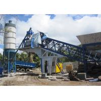 Quality 25m3/H Belt Type Quick Dry Mix Mobile Concrete Batching Plant Fully Automatic Type for sale