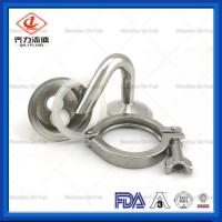 China Spring ReturnSanitary Pressure Relief Valve Air Release Breath  Adjustable on sale