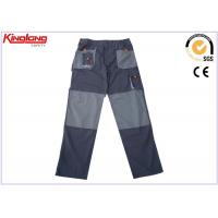 China Mens Cargo Combat Work Canvas Trousers Security Mens Workwear Pants on sale