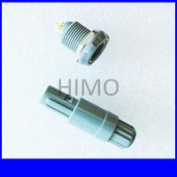 Quality double key 6 pin lemo self-latching plastic connector for sale