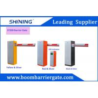 220v/110v 6 Meters ElectronicBoom Barrier Gate With Single Stright Bar