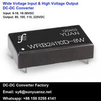 Quality Wide Input Range High Voltage Output 1-10W Non Isolation DC DC Converters for sale