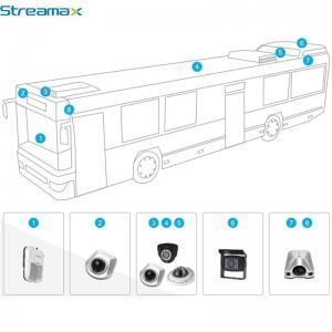 Quality vehicle blackbox dvr 5ch HD Car DVR for Bus/Taxi/Truck/Tank/Police Car/school bus for sale
