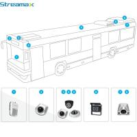 Buy cheap vehicle blackbox dvr 5ch HD Car DVR for Bus/Taxi/Truck/Tank/Police Car/school from wholesalers