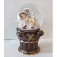Quality polyresin Madonna water globe for sale