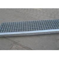 Quality Bridge Walkway Metal Grate Stair Treads Galvanized Surface Treatment for sale