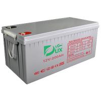 Quality Dux Battery AGM battery 12V 200AH lead acid battery VRLA battery long life battery seal acid maintenance free battery for sale