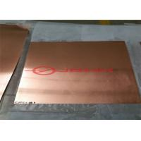 Buy cheap Sandwich Structured Flat Panel , Molybdenum Copper Molybdenum Heat Spreaders from wholesalers
