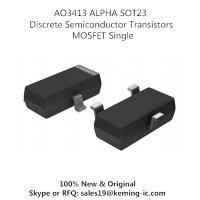 China AO3413 ALPHA SOT23  Discrete Semiconductor Transistors MOSFET Single on sale