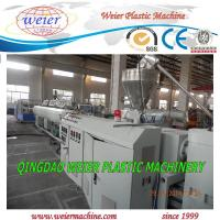 Quality Screw Extruder PVC Pipe Extrusion Line CE ISO , High Effeciency Extruder for sale