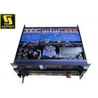 Quality Black Color 2 Channel Pa Amplifier 9000W with Pure copper heatsink for sale