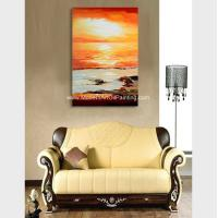 Quality Hand Painted Abstract Acrylic Painting Landscape Wall Art For Home Decor for sale
