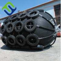 Quality Dia 2.5xL5.5m Floating Boat Pneumatic rubber fender for sale
