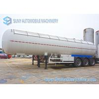 56000 L 12 Wheel LPG Tank Trailer Three Axle Trailer With Air Suspension