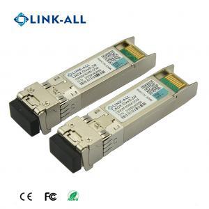 Quality Long Distance 10G DWDM 100KM 100GHz C-Band Optical Transceiver for sale