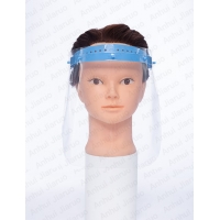 Quality Non Sterile Disposable Safety Face Mask PP PET With Double Sided Anti Fogging for sale