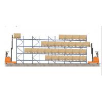 Quality high density forklift working gravity flow racks for distribution business for sale