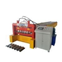 Quality Steel Profile Corrugated Metal Floor Deck Machine With 23 Rollers , Longlife for sale