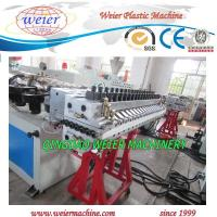 Quality 28T Plastic Board Production Line With Plastic - Wood Compounded Finished for sale