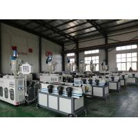 Buy cheap Electrical Conduit Corrugated Pipe Production Line Inductiing Mode CE Listed from wholesalers