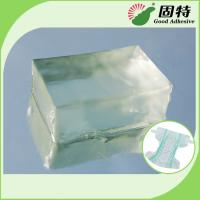 Quality Block Baby Diaper Industrial Hot Melt Glue , PSA Hot Melt Adhesivenapkin for sale