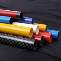 Quality Hollow Oval Sleeve Extension Fiberglass Round Tube for sale