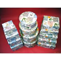 Quality Recycled Cardboard Gift Boxes , Rectangle / Square / Circular paper box for sale