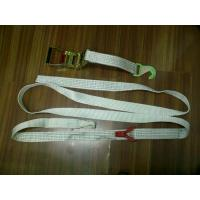 Quality 50MM Polyester Car Trailer Tie Down Straps LC2500 DN EN12195-2 For Boat Lashing for sale