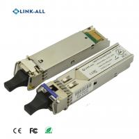 Quality 1.25G 1490NM/1550NM(1550NM/1490NM) Wavelength BIDI 120KM Transceiver With SC Connector for sale