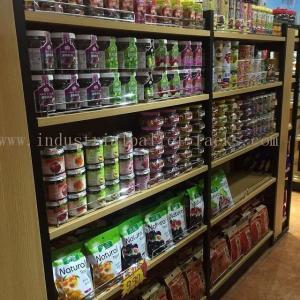 Quality Light Duty Gondola Shelves Supermarket Racking Island / End Units 5 Levels Each for sale