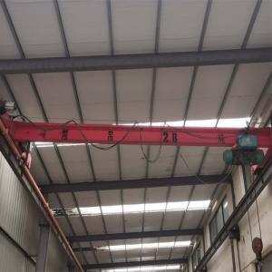 Quality Electric Hoist Single Girder Overhead Crane Travelling Beam Bridge Crane 5 Ton 10 Ton for sale