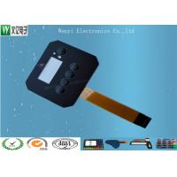 Quality Customized FPC Circuit Touch Screen Membrane Panel Switch 0.18 mm PET / PC Overlay for sale