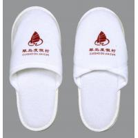 Quality Promotional Guest bedroom White Restaurant, Spa and Hotel Slipper for Men for sale