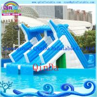 Quality Giant lake inflatable water slide for sale inflatable pool slides for inground pools for sale