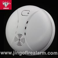 Quality Fire alarm battery powered smoke detector with buzzer alarm for sale