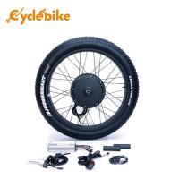 China 26 Inch 1000w Fat Electric Bicycle Kit 26x4.0 Kenda Tyre High Speed 50km/h on sale