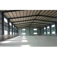 China Clear Span Metal Buildings Steel Structure Warehouse / Steel Framing Systems on sale