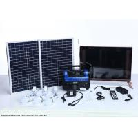 Quality High End Residential Solar Power Systems Build In Rechargeable Battery for sale